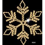 """Kalėdinė LED dekoracija """"Snaigė"""" 120 cm"""