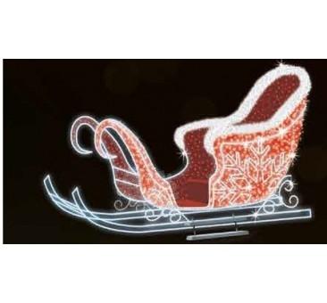 3D LED dekoracija rogės 1958S
