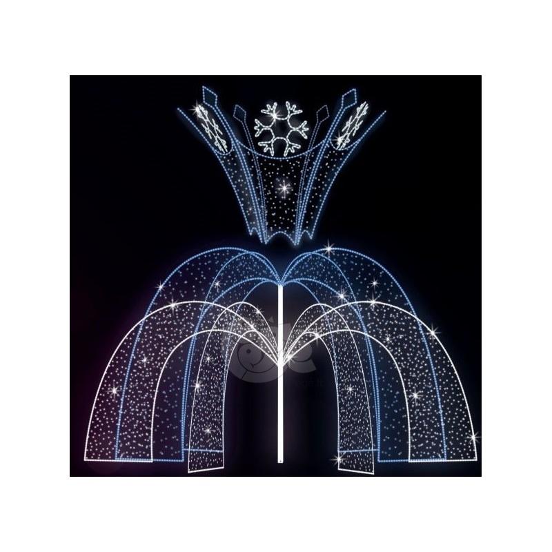 Dekoracija 3D LED fontanas 280x400 , 1978
