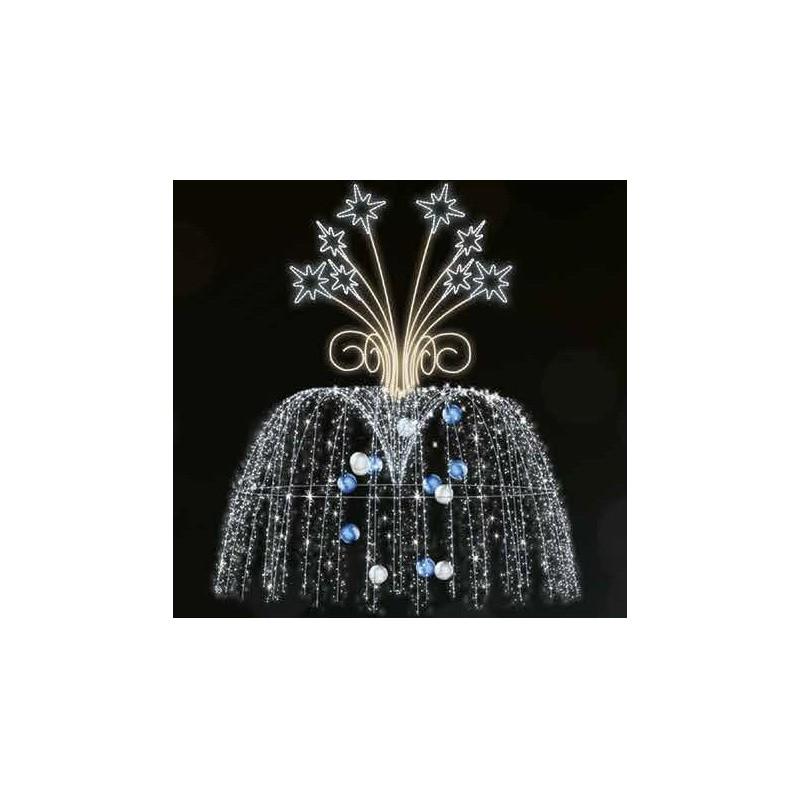 Dekoracija 3D LED fontanas 400x300 , 2972