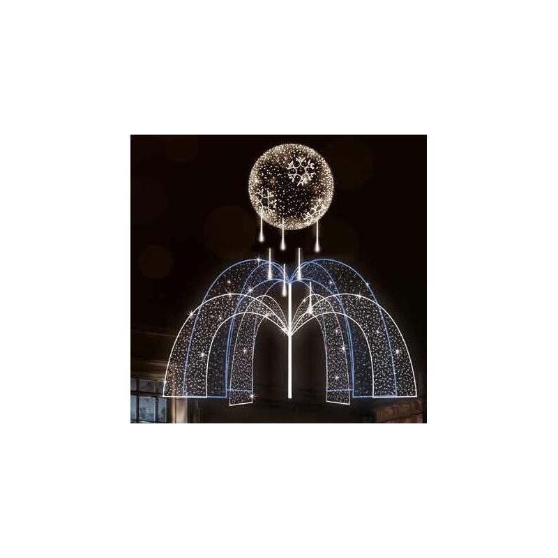 Dekoracija 3D LED fontanas 300x300 , 2971