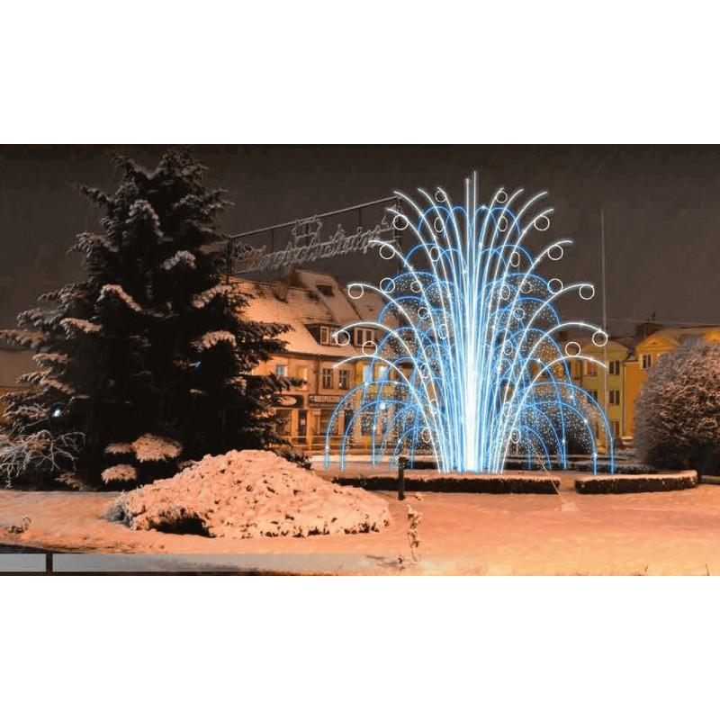 Dekoracija 3D LED fontanas 600x600, 2975