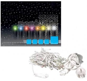 Universali Kalėdinė girlianda LED užuolaida blyksintys diodai 2,5 x 3 m, 600