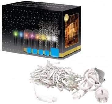 Lauko kalėdinė girlianda LED užuolaida blyksintys diodai 5 x 1 m, 380