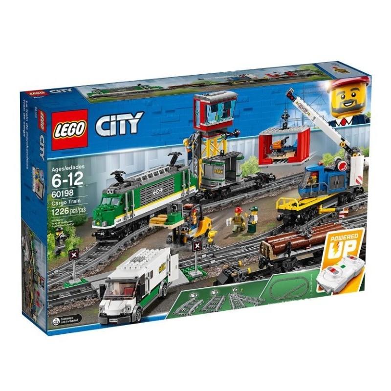 LEGO konstruktorius City Krovininis traukinys 60198