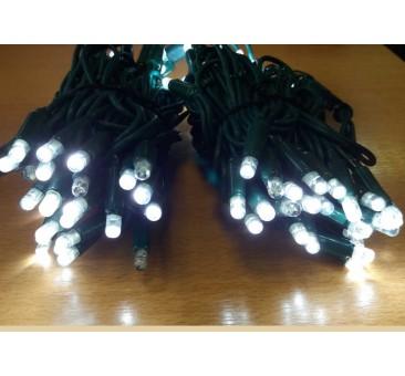 Profesionali lauko LED girlianda 100 (kas 5 blyksintis diodas) 10 m