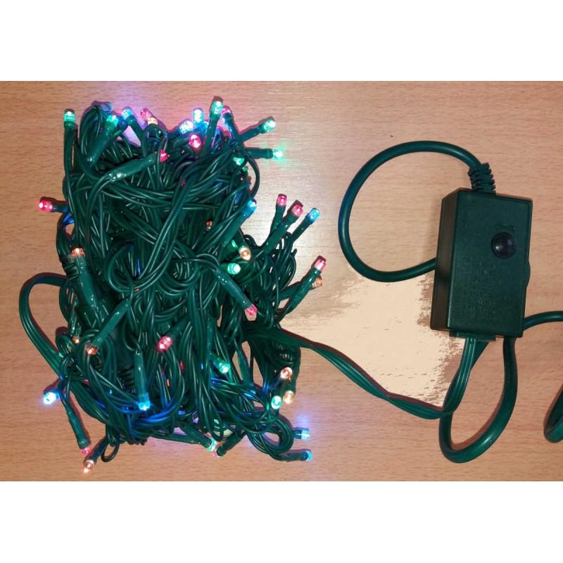 Universali Kalėdinė LED girlianda su programomis 100 diodų 10 m