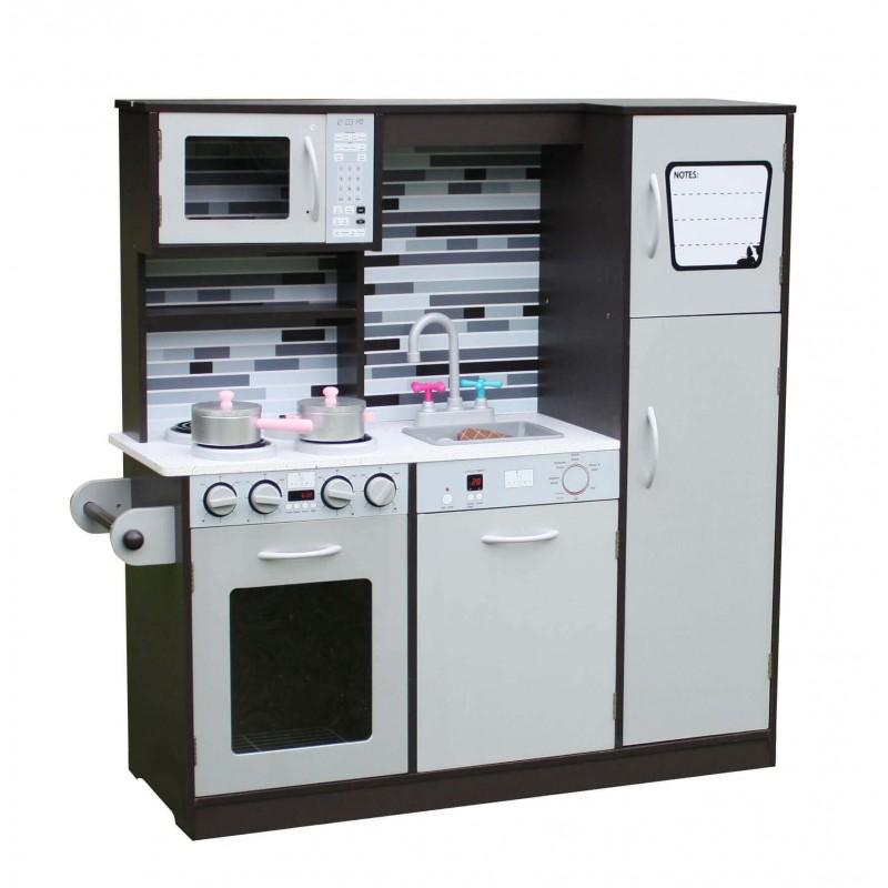 Medinė virtuvėlė PARISS GREY