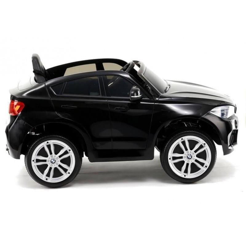 Elektromobilis BMW X6M juodas vienvietis