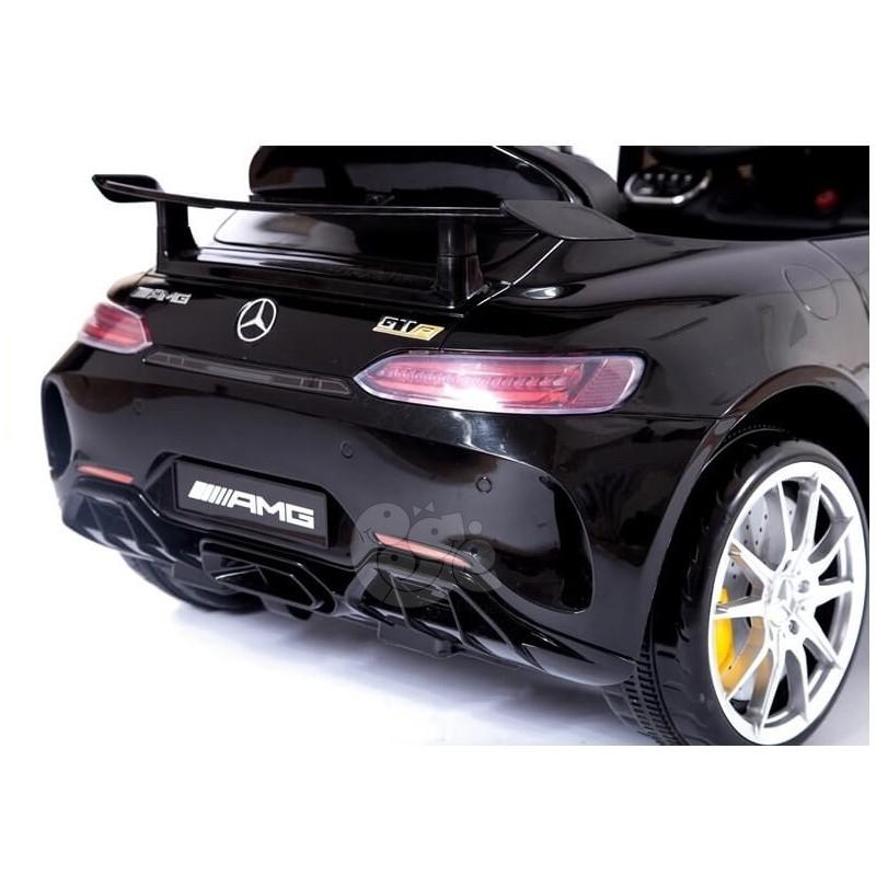 Elektromobilis MERCEDES AMG GT juodas  lakuotas