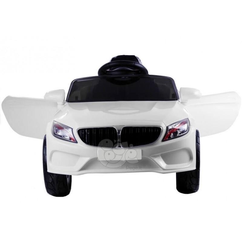 Elektromobilis CAR baltas 12V