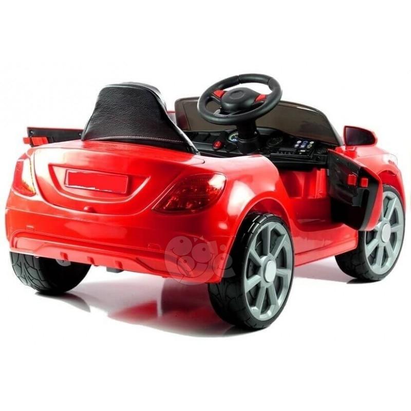 Elektromobilis CAR raudonas 12V
