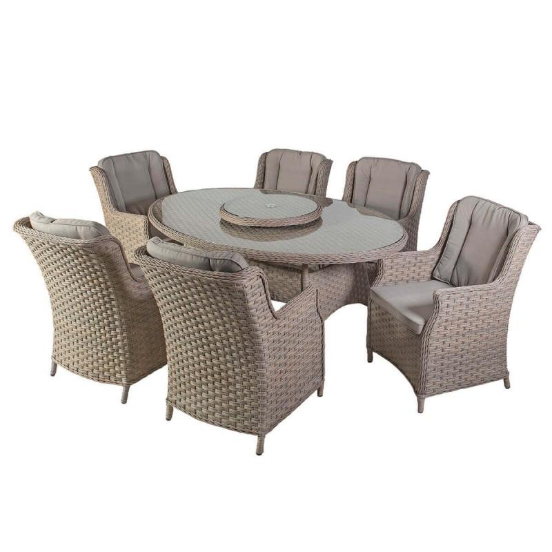 Lauko baldai PACIFIC 6 180x120xH74 cm