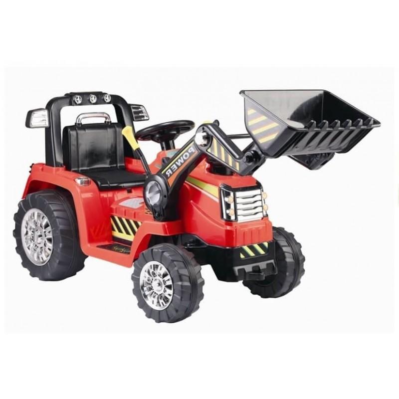 Traktoriukas ZP 1005 raudonas 12V