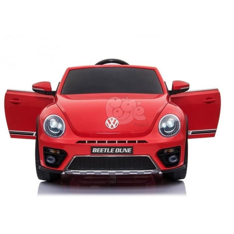 Elektromobilis VOLKSWAGEN BEETLE DUNE raudonas 12 V