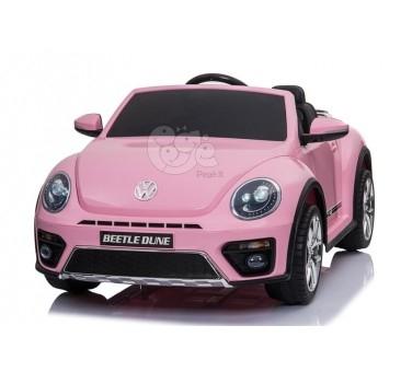 Elektromobilis VOLKSWAGEN BEETLE DUNE rožinis 12 V