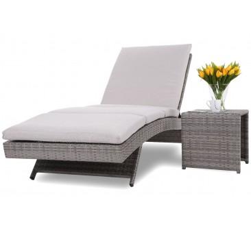 Lauko gultas NORA GREY + staliukas