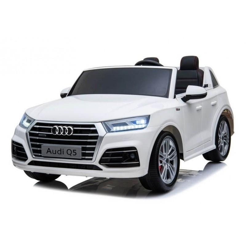 Elektromobilis AUDI Q5 dvivietis baltas