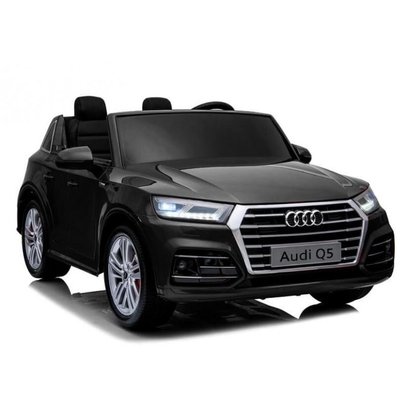 Elektromobilis AUDI Q5 dvivietis juodas