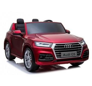 Elektromobilis AUDI Q5 dvivietis raudonas lakuotas