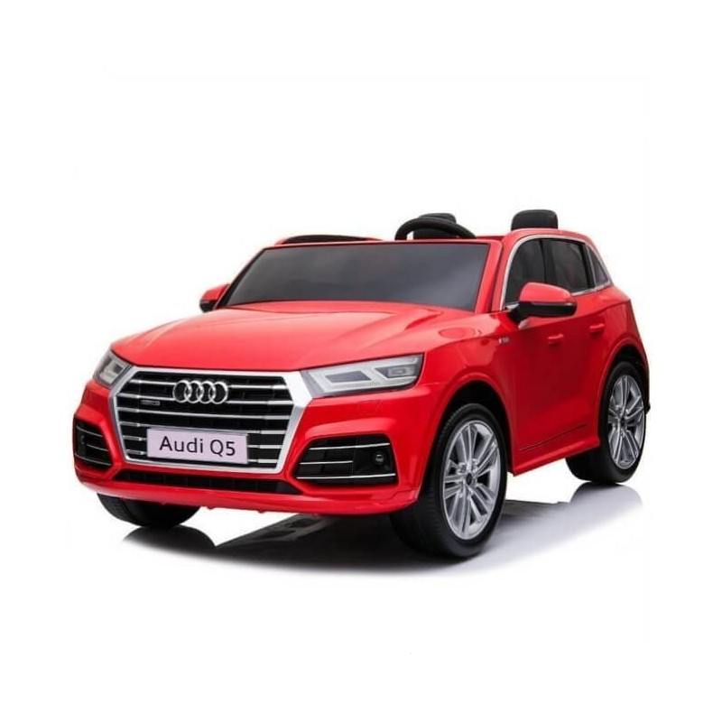 Elektromobilis AUDI Q5 dvivietis raudonas