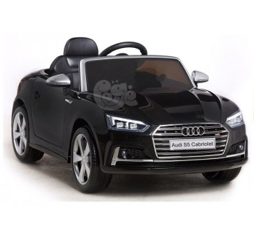 Elektromobilis AUDI S5 12V  juodas