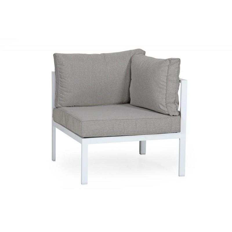 Lauko baldai LEONE WHITE