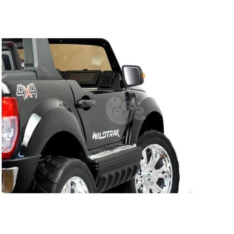 Elektromobilis FORD 4x4, 2x12 V su LCD ekranu lakuotas juodas