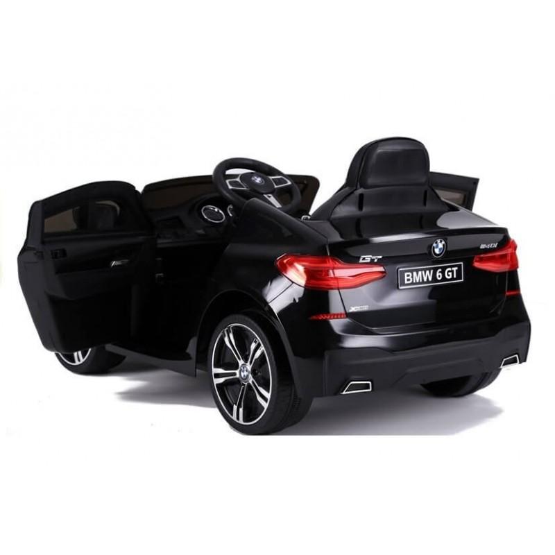 Elektromobilis BMW 6 GT juodas vienvietis