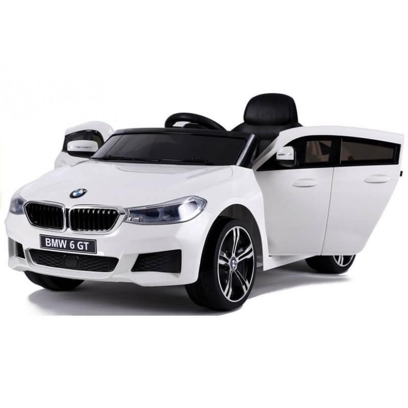 Elektromobilis BMW 6 GT baltas vienvietis