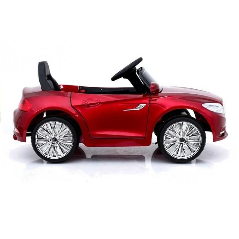 Elektromobilis CABRIO raudonas lakuotas su distanciniu valdymu