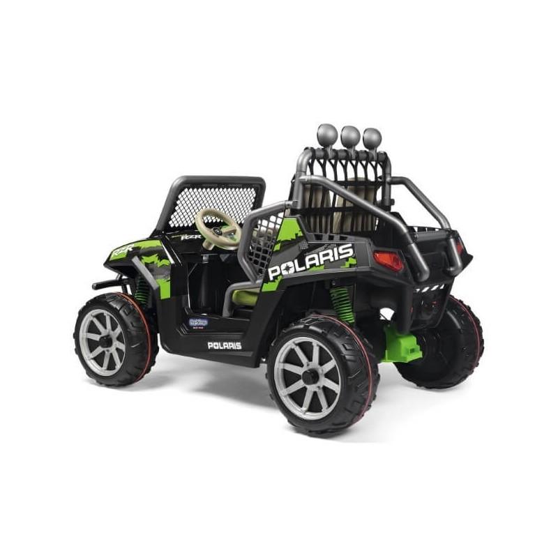 Elektromobilis POLARIS RANGER RZR GREENSHADOW 24V