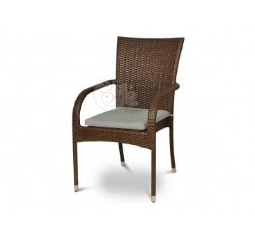 Minkšta pagalvėlė ant kėdės GREY
