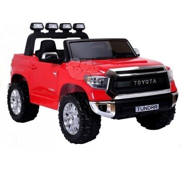 Elektromobilis TOYOTA TUNDRA 12V raudonas su nuotoliniu valdymu