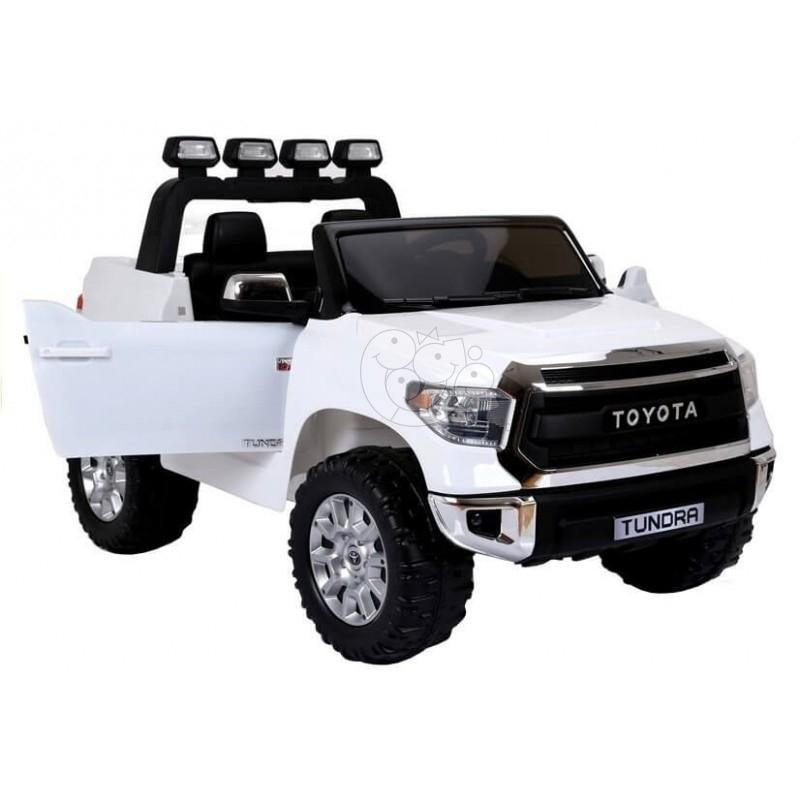 Elektromobilis TOYOTA TUNDRA 12V baltas su nuotoliniu valdymu