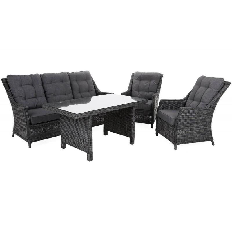 Lauko baldai ALIKANTE 3 GREY