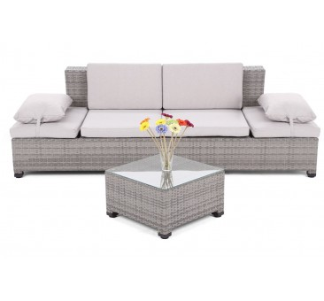 Lauko sofa MILANE GREY