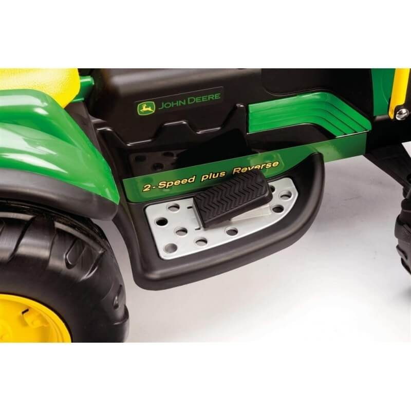 PEG PEREGO JOHN DEERE GROUND LOADER 12V + priekaba