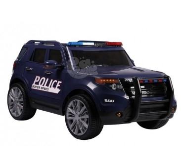 Elektromobilis POLICE mėlynas 12V