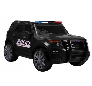 Elektromobilis POLICE juoda 12V