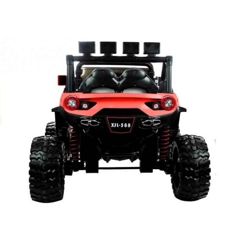 Elektromobilis JEEP XJL - 588 raudonas 12V