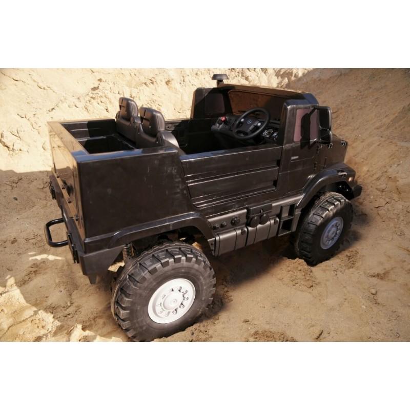 Elektromobilis MERCEDES ZETROS 24 V 240 W juodas