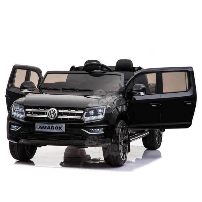 Elektromobilis VOLKSWAGEN AMAROKVOLKSWAGEN AMAROK 4x4, 2x12V juodas lakuotas