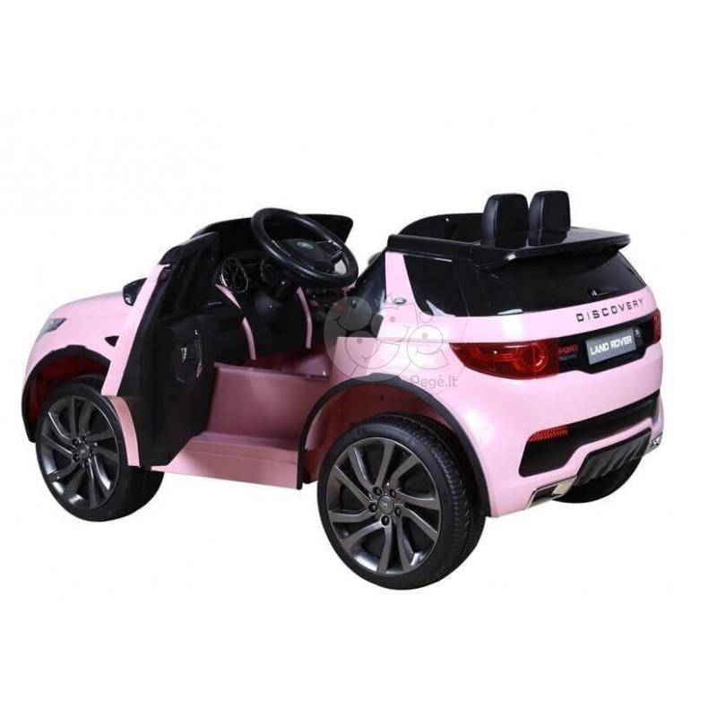 Elektromobilis LAND ROVER HL2388 Rožinis 12V
