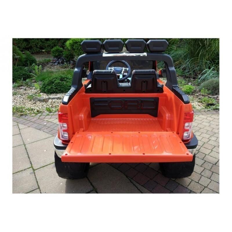 Elektromobilis FORD RANGER 4x4, 2x12V  oranžinis