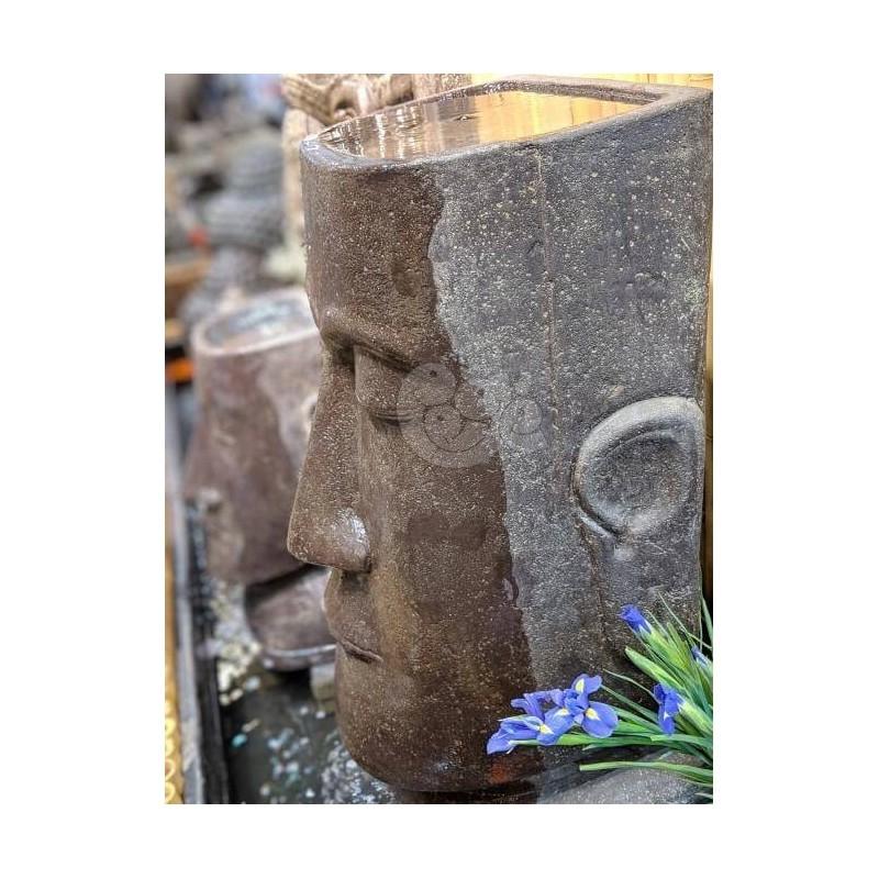 Skulptūra/vazonas MOAI 100 cm