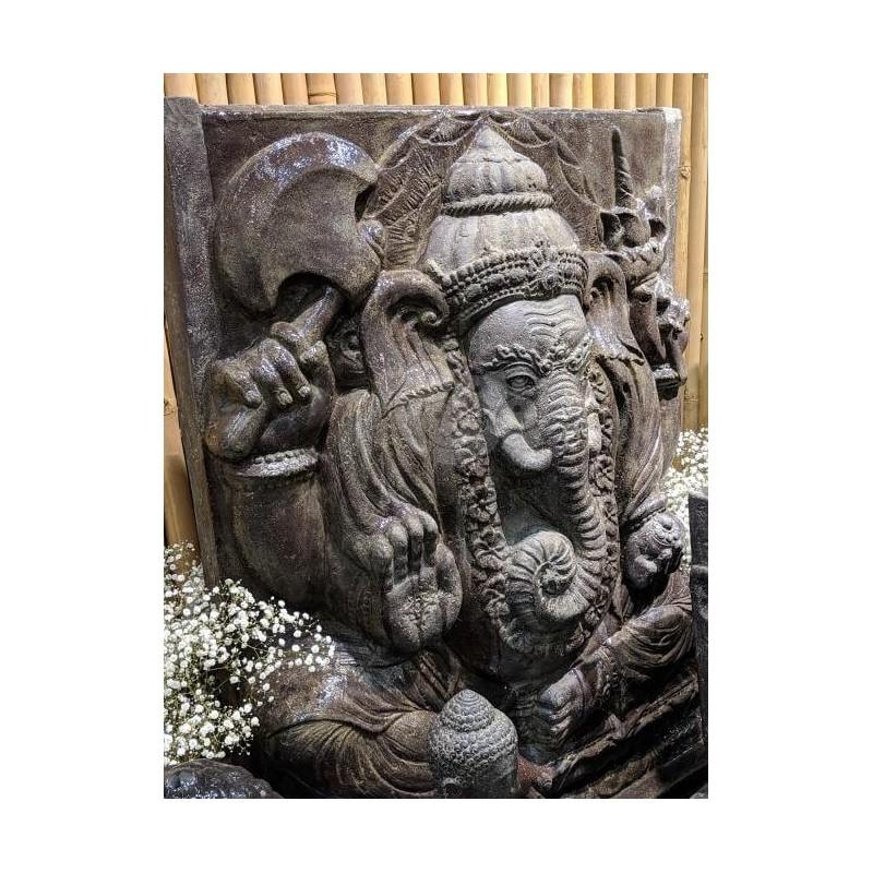 Skulptūra/reljefas Ganeša 120cm