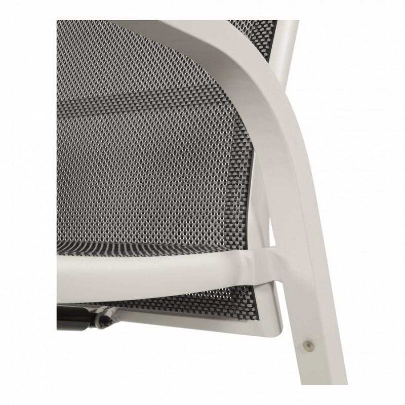 Kėdė MOJITO BLANCO su atlenkiamu atlošu ir kojų atrama