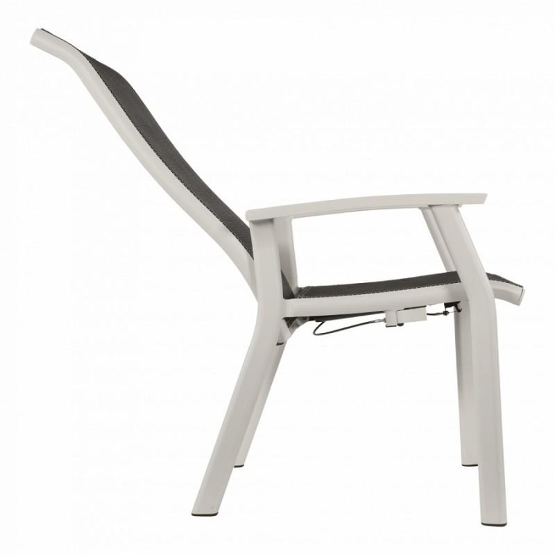 Altenkiama kėdė su kojų atrama MOJITO BLANCO 2