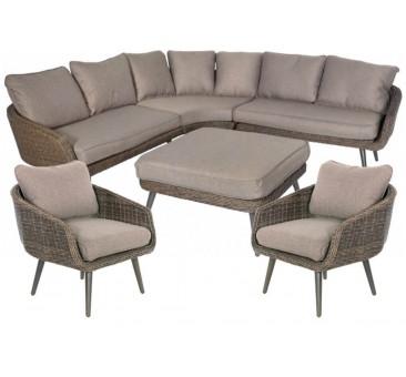 Lauko baldų komplektas VINYL +2